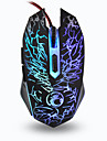 ESTONE X5 Wired Backlight Optical USB2.0 Mouse Adjustable 800-2400 DPI Colorful LED Backlit Gaming Mouse for PC Computer Laptop
