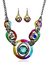 MPL Europe and the United States retro fashion necklace earrings set