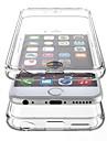 Для Кейс для iPhone 6 / Кейс для iPhone 6 Plus Защита от удара / Прозрачный Кейс для Чехол Кейс для Один цвет Твердый PCiPhone 6s Plus/6