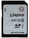 Kingston 64Go carte SD carte memoire UHS-I U1 Class10