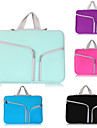 Laptop sleeve bag cases Dual Pocket Neoprene Zipper notebook bag Pouch for Macbook Air Pro 11/13/15 inch