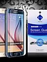 hd protecteur d\'ecran avec la poussiere absorbeur pour Samsung Galaxy S6 (3 pieces)