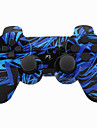 Wireless Joystick Bluetooth DualShock3 Sixaxis Rechargeable Controller Gamepad for PS3 (Multicolor)