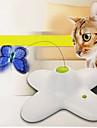 Игрушка для котов Игрушки для животных Интерактивный Дразнилки Электроника Бабочка