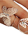 Women\'s Midi Rings Fashion Rhinestone Alloy Jewelry For Party Daily