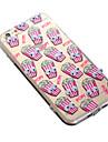 For iPhone 6 Case / iPhone 6 Plus Case Transparent / Pattern Case Back Cover Case Tile Soft TPU iPhone 6s Plus/6 Plus / iPhone 6s/6