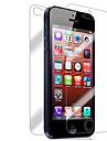 [7-pack] frontal e traseira Retina protetor de tela para iPhone 5/5S