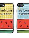 용 패턴 케이스 뒷면 커버 케이스 단어 / 문구 소프트 TPU 용 Apple 아이폰 7 플러스 아이폰 (7) iPhone 6s Plus/6 Plus iPhone 6s/6