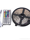 5M 5050 300 SMD IP65 RGB AC 12V With 44 Key Remote Control Light Set