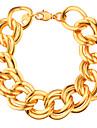 Homme Femme Couple Chaines & Bracelets Plaque or Mode Bijoux de Luxe Bijoux Or Bijoux 1pc