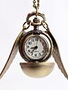 Муж. Нарядные часы Часы-подвеска Кварцевый сплав Группа Винтаж Золотистый