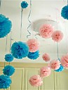 10pcs 25 centimetros * 25 centimetros bolas de flores de papel baratos para casamento casa decoracao do carro partido artesanato