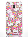 For Samsung Galaxy A7(2016) A5(2016) Case Cover Curly Horse Pattern Small Fresh Series Love Quicksand Flash Powder Phone Case