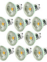 10pcs 5W GU10 Dimmable Warm/Cool White Color LED Spotlight COB Spot Light 220-240V
