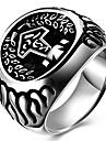 Aneis Festa Diario Casual Esportes Joias Aco Titanio Masculino Maxi anel Anel 1peca,6 7 8 9 10 Como a Imagem