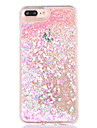 For Apple iPhone 7 7Plus 6S 6Plus Case Cover Fresh Love PC Backplane Soft Edge Diamond Combo Quicksand Flash Powder Phone Case