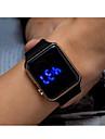 Муж. Для мужчин Спортивные часы электронные часы Цифровой / Plastic Группа Винтаж Черный