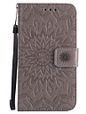 For Nokia Lumia 650 640 630 550 PU Leather Material Sun Flower Pattern Embossed Phone Case