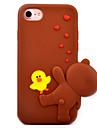 용 패턴 케이스 뒷면 커버 케이스 3D카툰 캐릭터 소프트 실리콘 용 Apple 아이폰 7 플러스 아이폰 (7) iPhone 6s Plus/6 Plus iPhone 6s/6