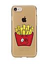 Pour Transparente Motif Coque Coque Arriere Coque Dessin Anime Flexible PUT pour AppleiPhone 7 Plus iPhone 7 iPhone 6s Plus/6 Plus iPhone