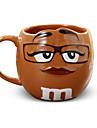 Мультяшная тематика Классика Стаканы, 600 ml Украшение Подруга Gift Керамика Сок Молоко Кофейные чашки