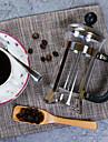 350 мл Нержавеющая сталь Plastic Французская пресса , 3 чашки душистый чай производитель Многоразового использования