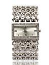 Femme Montre Tendance Montre Bracelet Bracelet de Montre Quartz Imitation de diamant Strass Alliage Bande Elegantes Argent Dore Or RoseOr
