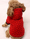 Dog Coat Dog Clothes Casual/Daily Sports Stars Black Beige Ruby