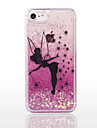 Para iPhone 8 iPhone 8 Plus Case Tampa Liquido Flutuante Transparente Capa Traseira Capinha Glitter Brilhante Rigida PC para Apple iPhone