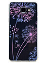 For Samsung Galaxy A3(2017) A5(2017) Case Cover Transparent Pattern Back Cover Case Dandelion Soft TPU for A7(2017) A5(2016) A3(2016)