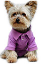 Dog Shirt / T-Shirt Dog Clothes Cute Casual/Daily Fashion Solid Purple Green