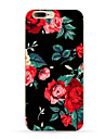 Pour iPhone X iPhone 8 iPhone 8 Plus Etuis coque Motif Coque Arriere Coque Fleur Flexible PUT pour Apple iPhone X iPhone 8 Plus iPhone 8