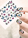 5pcs/set Стикер искусства ногтя Вода Передача Переводные картинки макияж Косметические Ногтевой дизайн