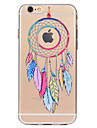 For Dream Catcher Pattern Soft TPU Material Phone Case for iPhone 7 Plus 7 6S Plus 6S 6 SE 5