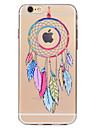 Pour iPhone X iPhone 8 Etuis coque Transparente Motif Coque Arriere Coque Attrapeur de reves Flexible PUT pour Apple iPhone X iPhone 8