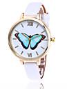 Fashion Butterfly Watch Casual Leather Women Quartz Wrist Watch Gift Clock Relogio Feminino