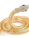 Femme Colliers chaines Forme d\'Animal Serpent Imitation de diamant AlliageLe style mignon Europeen Bijoux de Luxe Personnalise