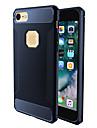 Для Защита от удара Кейс для Задняя крышка Кейс для Один цвет Мягкий TPU для AppleiPhone 7 Plus iPhone 7 iPhone 6s Plus iPhone 6 Plus
