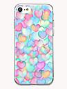 Для Чехлы панели Ультратонкий С узором Задняя крышка Кейс для С сердцем Мягкий TPU для AppleiPhone 7 Plus iPhone 7 iPhone 6s Plus iPhone