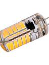 3W G4 Двухштырьковые LED лампы T 40 SMD 5730 200-300 lm Тёплый белый Холодный белый Декоративная AC110 AC220 V 1 шт.