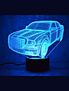 Christmas Car Touch Dimming 3D LED Night Light 7Colorful Decoration Atmosphere Lamp Novelty Lighting Christmas Light