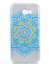 Para IMD Estampada Capinha Capa Traseira Capinha Design de Renda Brilho com Glitter Flor Mandala Rigida PC para SamsungA3 (2017) A5
