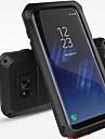 Para Case Tampa Antichoque Impermeavel Corpo Inteiro Capinha Cor Unica Rigida Metal para Samsung S8 S8 Plus