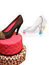 1Pcs  Baking DIY 3D Fondant High Heel Shoe Chocolate Mold Cute Stereo Lady\'S Shoes Candy Mould Sugar Paste Mold For Cake Decoration