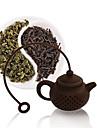 10 мл силиконовый Ситечко для чая , зеленый чай производитель Многоразового использования