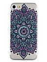 Para o iphone da maca 7 7 mais 6s 6 mais o se 5s 5 tampa do caso flores do datura teste padrao gota cola verniz alta qualidade tpu