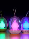 Ночь лампа пламени портативный bombillas USB перезаряжаемые светодиодные сроки красочные огни для ребенка спальня сна освещения искусства