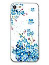 Para Case Tampa Ultra-Fina Estampada Capa Traseira Capinha Flor Macia TPU para AppleiPhone 7 Plus iPhone 7 iPhone 6s Plus iPhone 6 Plus