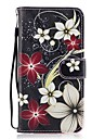 For Huawei P8 lite 2017 Mate9 Card Holder Wallet with Stand Flip Pattern Case Full Body Case Flower Hard PU Leather for Honor5C 7 8 Y5 II Y6 II Y560