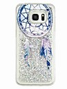 For Samsung Galaxy S7 edge S7 Flowing Liquid Pattern Case Back Cover Case Dream Catcher Soft TPU for S6 edge S6 S5